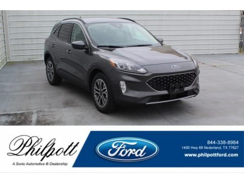 Magnetic Metallic 2020 Ford Escape SEL