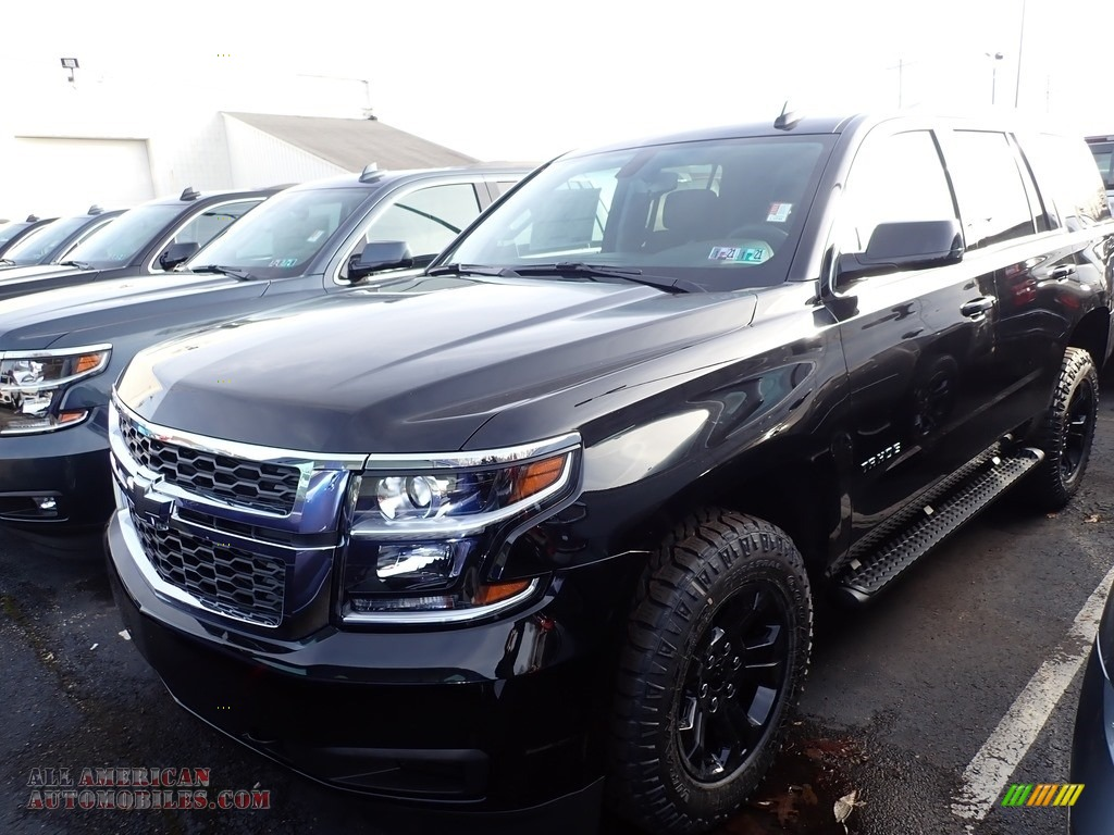 2020 Tahoe LS 4WD - Black / Jet Black photo #1
