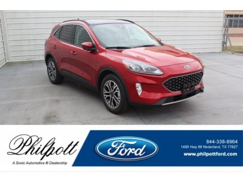 Rapid Red Metallic 2020 Ford Escape SEL