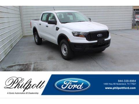Oxford White 2020 Ford Ranger XL SuperCrew