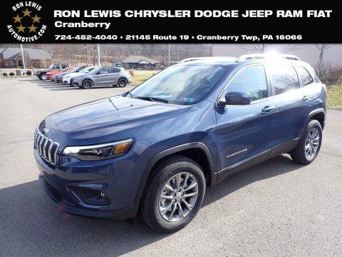 Blue Shade Pearl 2020 Jeep Cherokee Latitude Plus 4x4