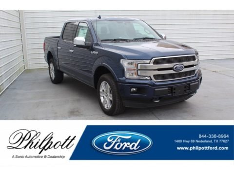 Blue Jeans 2020 Ford F150 Limited SuperCrew 4x4