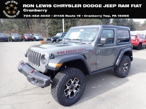 Sting-Gray 2020 Jeep Wrangler Rubicon 4x4