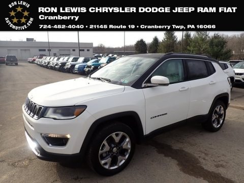 White 2020 Jeep Compass Limted 4x4