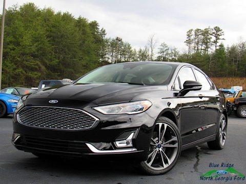 Agate Black 2020 Ford Fusion Titanium