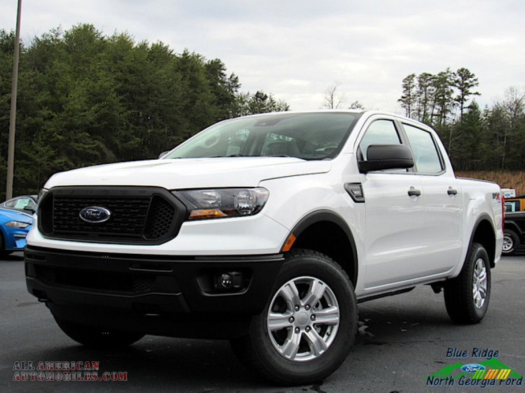 2020 Ranger STX SuperCrew 4x4 - Oxford White / Ebony photo #1