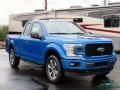 Ford F150 STX SuperCab 4x4 Velocity Blue photo #7