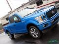 Ford F150 STX SuperCab 4x4 Velocity Blue photo #31