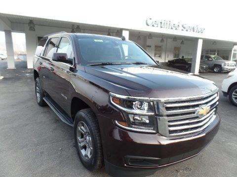 Black Cherry Metallic 2020 Chevrolet Tahoe LS 4WD