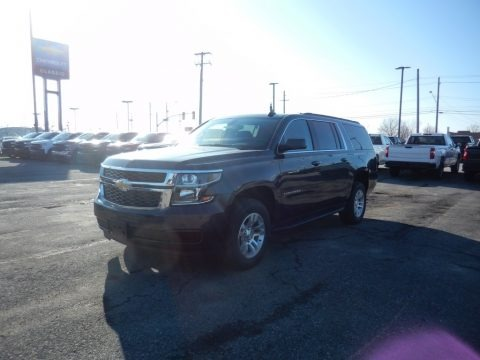 Shadow Gray Metallic 2020 Chevrolet Suburban LS 4WD