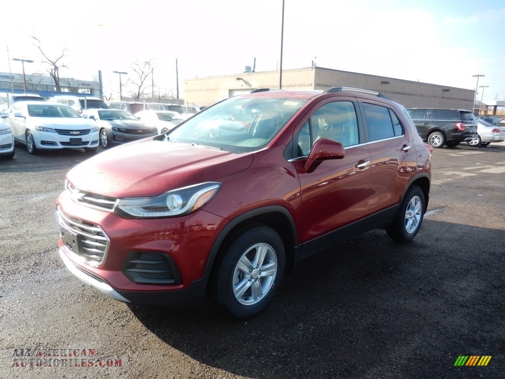 2020 Trax LT AWD - Cajun Red Tintcoat / Jet Black photo #1