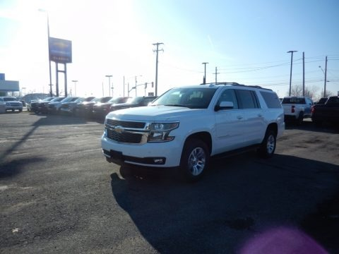 Summit White 2020 Chevrolet Suburban LT 4WD