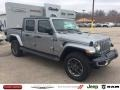 Jeep Gladiator Overland 4x4 Billet Silver Metallic photo #1