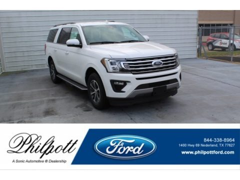 Star White 2020 Ford Expedition XLT Max 4x4