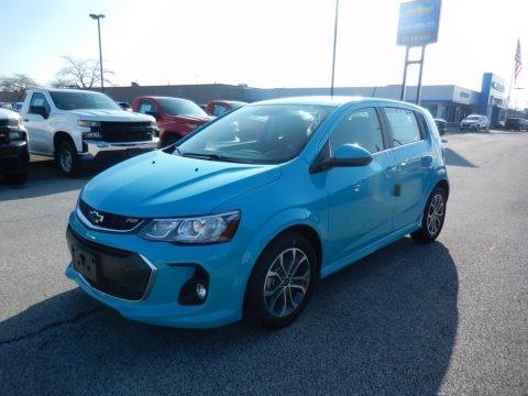 Oasis Blue 2020 Chevrolet Sonic LT Hatchback