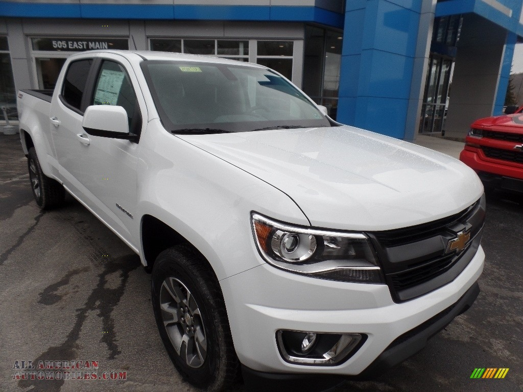 2020 Colorado Z71 Crew Cab 4x4 - Summit White / Jet Black photo #1