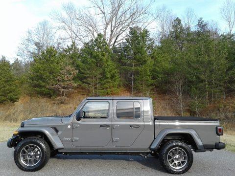 Sting-Gray 2020 Jeep Gladiator Overland 4x4