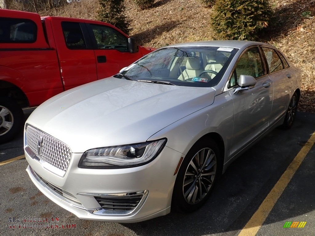 2019 MKZ Reserve I AWD - Ingot Silver / Cappuccino photo #1