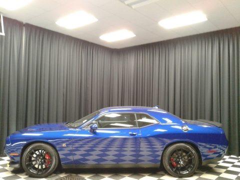 IndiGo Blue 2020 Dodge Challenger R/T Scat Pack