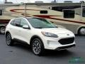 Ford Escape Titanium 4WD Star White Metallic Tri-Coat photo #7