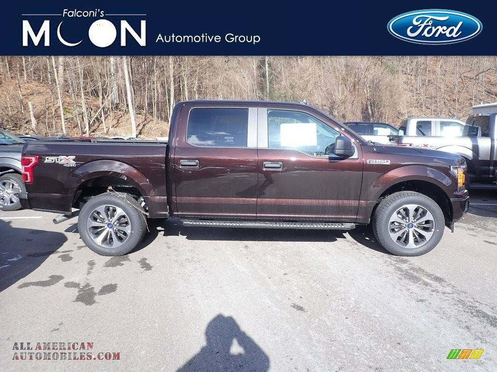 2020 F150 XLT SuperCrew 4x4 - Magma Red / Medium Earth Gray photo #1