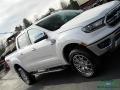 Ford Ranger Lariat SuperCrew 4x4 White Platinum photo #32