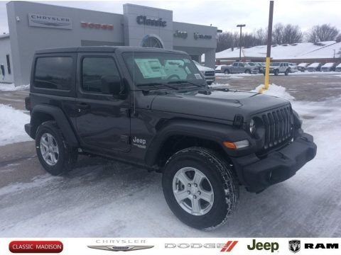 Granite Crystal Metallic 2020 Jeep Wrangler Sport 4x4