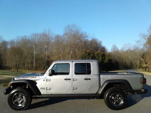 Billet Silver Metallic 2020 Jeep Gladiator Rubicon 4x4