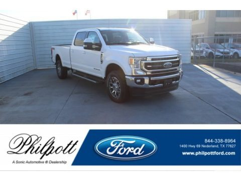 Oxford White 2020 Ford F350 Super Duty Lariat Crew Cab 4x4