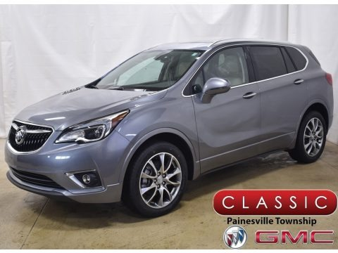 Satin Steel Metallic 2020 Buick Envision Essence AWD
