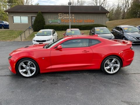 Red Hot 2019 Chevrolet Camaro SS Coupe