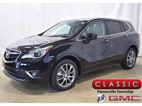 Ebony Twilight Metallic 2020 Buick Envision Essence AWD