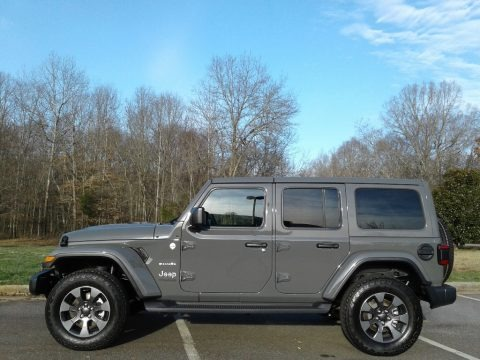 Sting-Gray 2020 Jeep Wrangler Unlimited Sahara 4x4