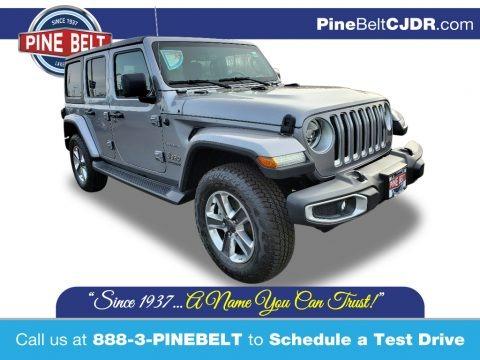 Billet Silver Metallic 2020 Jeep Wrangler Unlimited Sahara 4x4