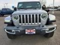 Jeep Wrangler Unlimited Sahara 4x4 Billet Silver Metallic photo #2