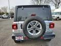 Jeep Wrangler Unlimited Sahara 4x4 Billet Silver Metallic photo #5