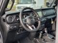 Jeep Wrangler Unlimited Sahara 4x4 Billet Silver Metallic photo #7