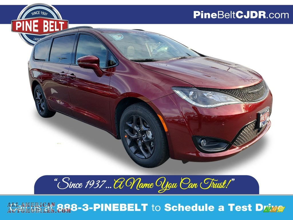 2020 Pacifica Limited - Velvet Red Pearl / Black photo #1
