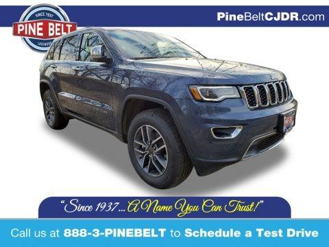 Slate Blue Pearl 2020 Jeep Grand Cherokee Limited 4x4