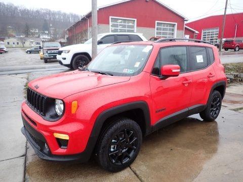 Colorado Red 2020 Jeep Renegade Latitude 4x4