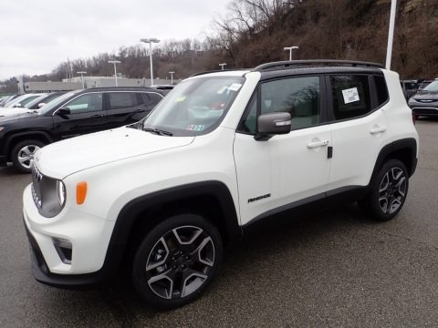 Glacier Metallic 2020 Jeep Renegade Limited 4x4