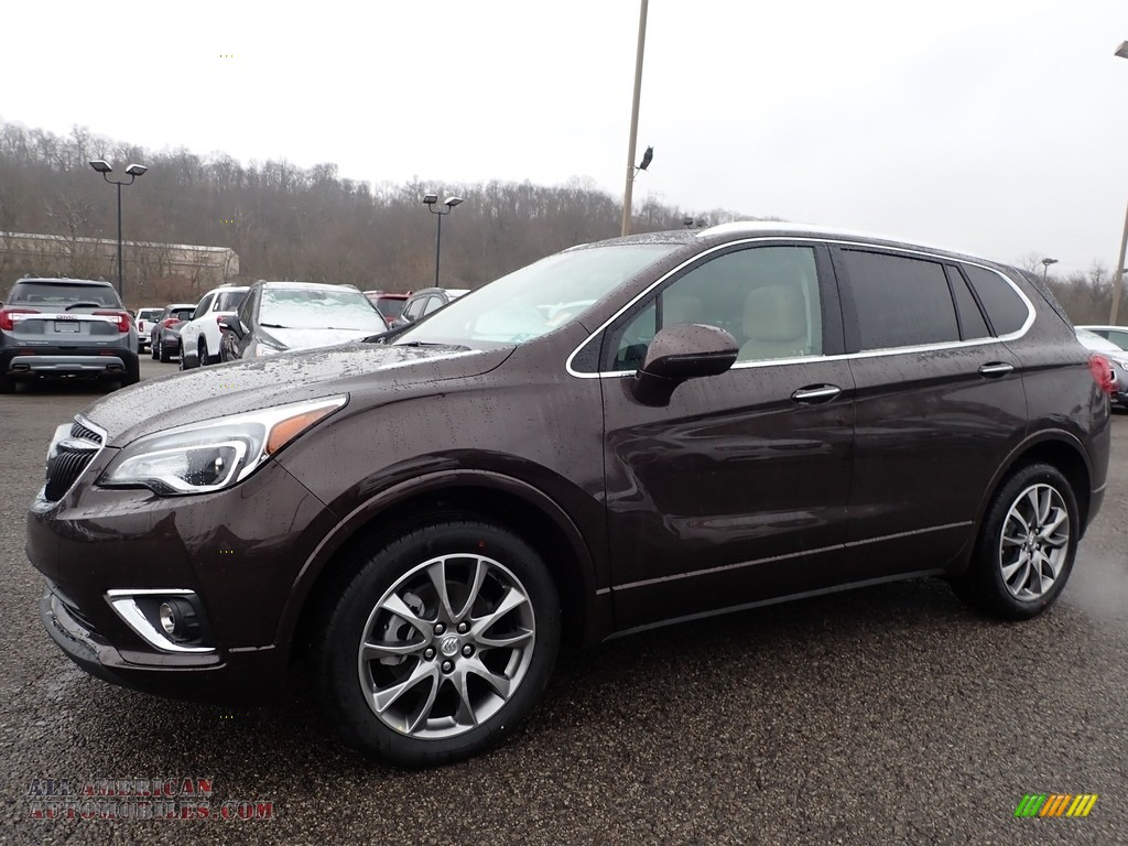 Espresso Metallic / Light Neutral Buick Envision Essence AWD