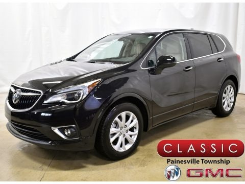 Ebony Twilight Metallic 2020 Buick Envision Preferred