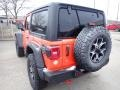 Jeep Wrangler Rubicon 4x4 Punkn Metallic photo #3