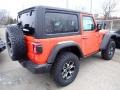 Jeep Wrangler Rubicon 4x4 Punkn Metallic photo #5