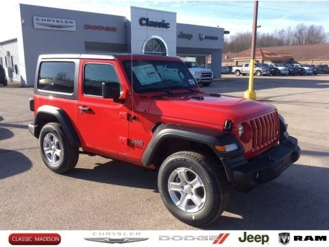 Firecracker Red 2020 Jeep Wrangler Sport 4x4