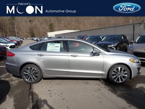 Iconic Silver 2020 Ford Fusion SE AWD