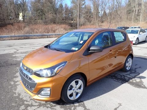 Orange Burst Metallic 2020 Chevrolet Spark LS