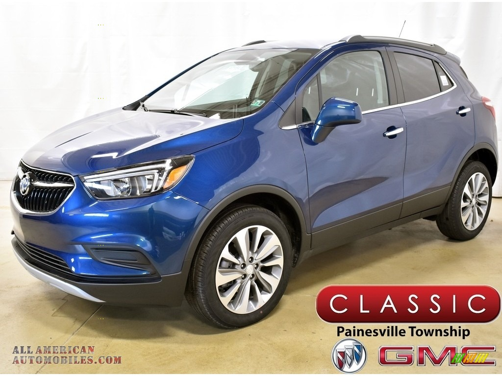 2020 Encore Preferred AWD - Deep Azure Metallic / Ebony photo #1