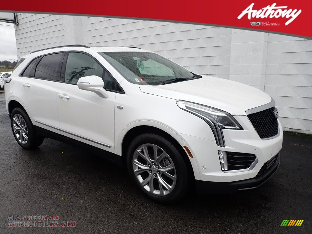 2020 XT5 Sport AWD - Crystal White Tricoat / Jet Black photo #1